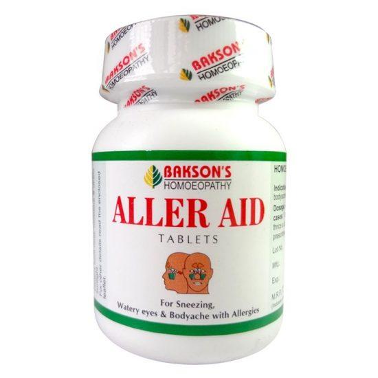 Bakson Aller Aid tablets fights allergic rhinitis