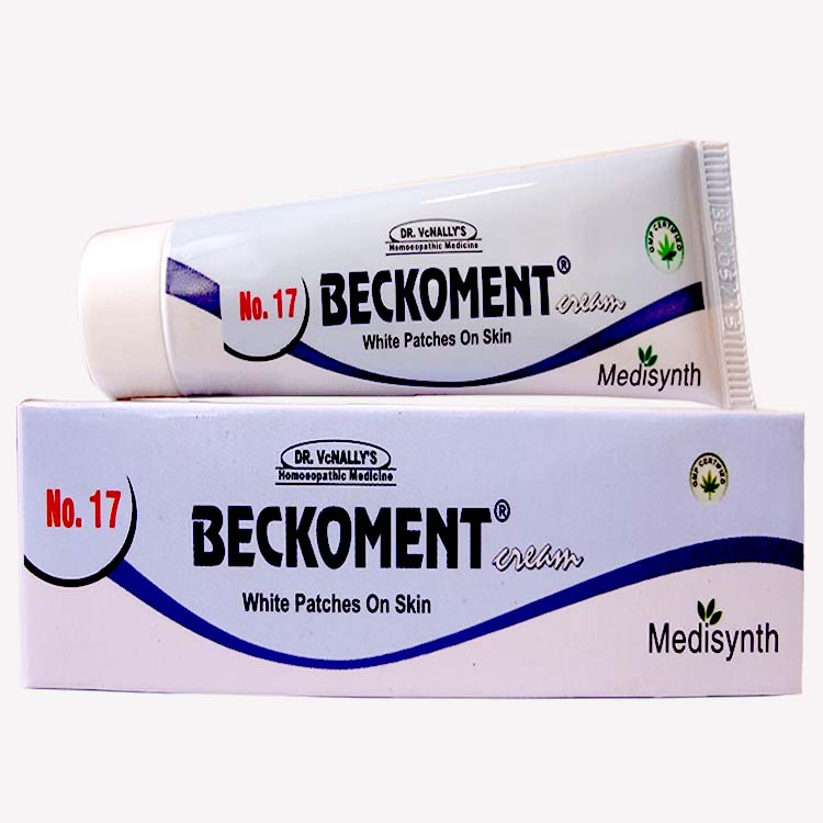 Medisynth Beckoment Cream 17 For White Patches Homeopathy Remedies Online
