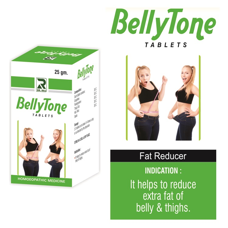 Dr Raj Bellytone Tablets Top Homeopathy Medicine To Loose Belly Fat